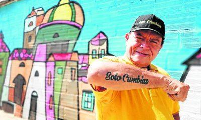 """""""Solo Cumbias"""" es el embajador de la música popular en la ciudad. Su labor social ha recorrido todos los rincones y es uno de los que más conoce este género."""